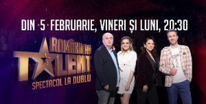 Romanii au Talent sezonul 11 episodul 2 online 8 Februarie 2021